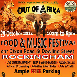 OUT OF AFRICA FESTIVAL
