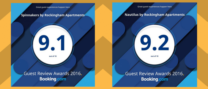 Rockingham Apartments Reflection and Nautilus awards