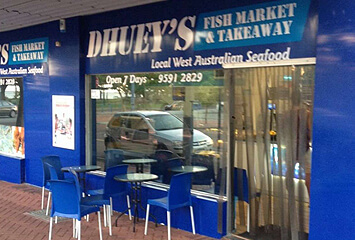 DUEY'S FISH MERCHANT